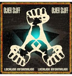 DJ Set Poster vector image