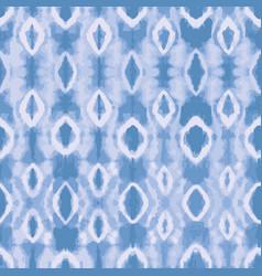 Blue tie dye background seamless pattern vector