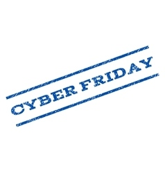 Cyber Friday Watermark Stamp vector