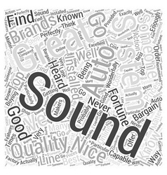 Great Brands for Good Prices on Auto Sound Systems vector