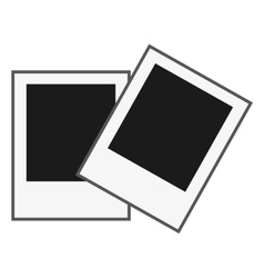 instant photos icon vector image