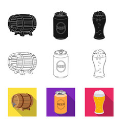 pub and bar icon vector image