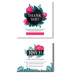 wedding design concept vector image