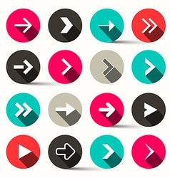 Arrows in Circles - vector image