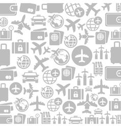 Aircraft a background vector