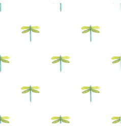 dragonfly triangle pattern backgrounds vector image