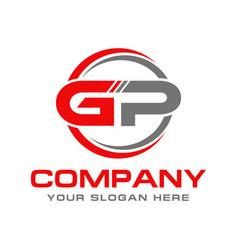 gp logo vector image
