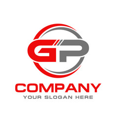 Gp logo vector
