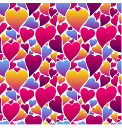 Happy valentine day seamless pattern vector