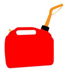 Isolated oil gallon vector