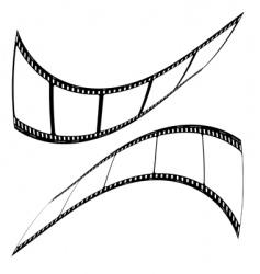 photo film strip mirror vector image