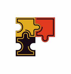 Puzzles vector