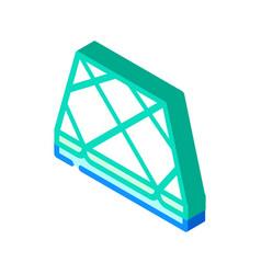 Tile layer floor isometric icon vector