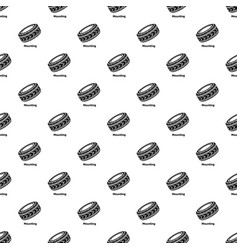 tire pattern seamless vector image