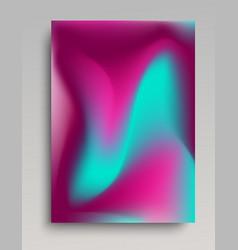 Volumetric gradient poster vector