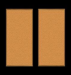 pin board pair vector image