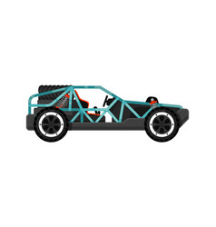 off road dune buggy isolated icon vector image
