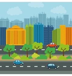City design Building icon Colorful vector