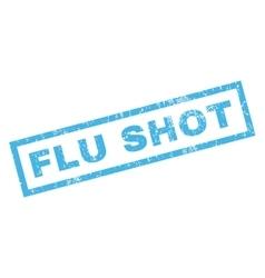 Flu shot rubber stamp vector