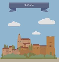 Granada vector image
