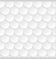 White geometric background seamless pattern vector