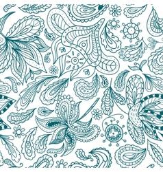 Ornamental Indian Pattern vector image vector image