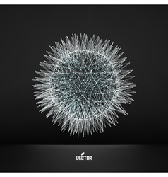 3d sphere Technology concept vector image