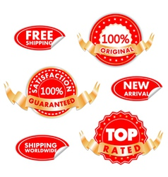 Tags For Sales vector image vector image