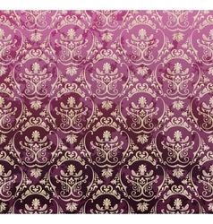 Violet royal set vector image