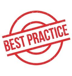 Best Practice rubber stamp vector