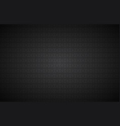 black abstract background modern widescreen vector image