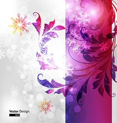 Magical Christmas Background vector