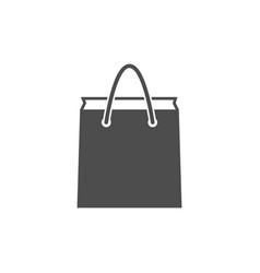 Paper bag icon vector