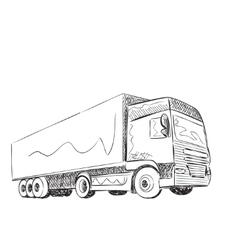 Truck Sketch vector