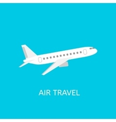 Air travel icon vector image