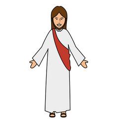 jesuscrist avatar character icon vector image
