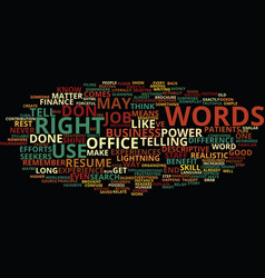 the power of words how the right language can vector image vector image