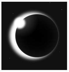 eclipse vector image vector image