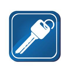 keys car vehicle icon vector image