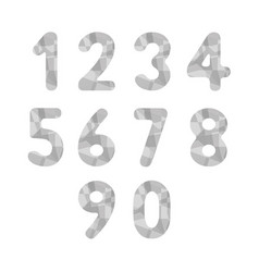 Abstract gray numbers2 vector