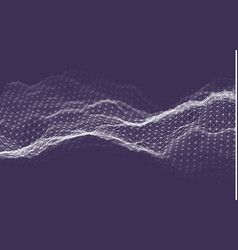 Business intelligence technology background binary vector