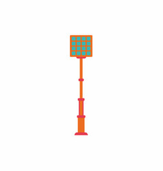 City street lantern vector