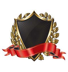 Coat arms -crest vector
