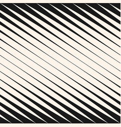 Diagonal halftone stripes seamless pattern vector