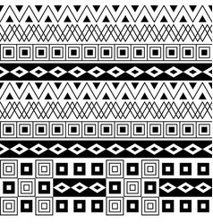 geometrical seamless pattern background vector image