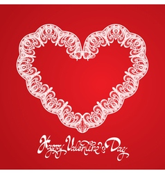 Hearts lace 2 380 vector