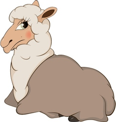 Lamb cartoon vector image