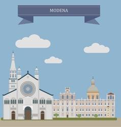 Modena vector image