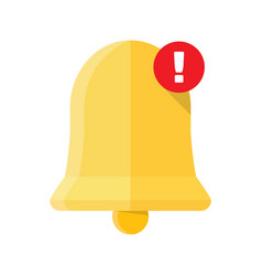 new notification icon vector image