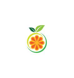 orange symbol vector image